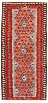 Handknuten persisk matta, Harsin-Kelim 278 x 130 cm