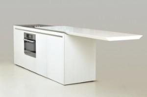 Lauritz.com - Möbel - AFVENT Norbert Wangen født 1962. Boffi køkken model K2 af Corian og ...