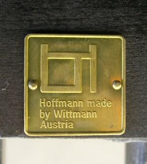 m bel josef hoffmann 1870 1956 8 39 arml ffel 39 st hle ausf hrung wittmann. Black Bedroom Furniture Sets. Home Design Ideas