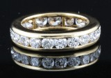 18kt eternity ring approx. 2.50ct