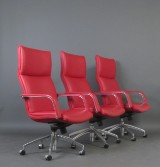Geoffrey Harcourt, set of office chairs model Michigan for Artifort (3)