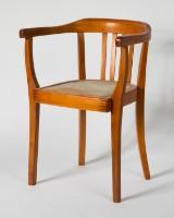 Armlehnstuhl, Buche, Frankfurter Stuhl
