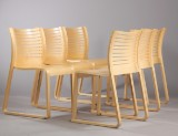 Kasper Salto. Spisestole, model 2800, Fredericia Furniture. (6)