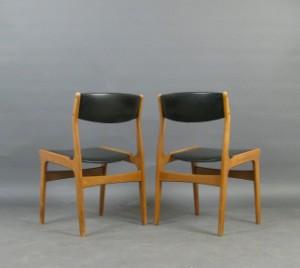 nova d nemark paar st hle der 1950 60er jahre. Black Bedroom Furniture Sets. Home Design Ideas