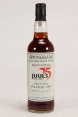 34 års Springbank årg. 1966. Juul's 75 år jubilæum
