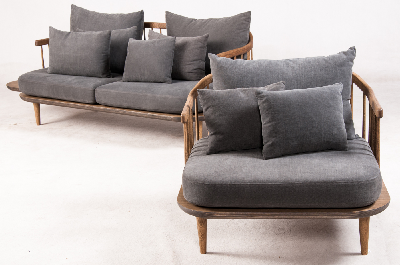 Space Copenhagen, lounge chair SC1 and sofa SC3, FLY Lounge