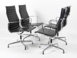 Charles Eames. Four conference chairs, model EA-109 (4)