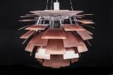 Poul Henningsen. Pendant lamp, PH Artichoke, copper, Ø 72 cm