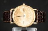 Men's watch from Corum, ref. no. 4414556, serial no. 221744, gold, 18 k model