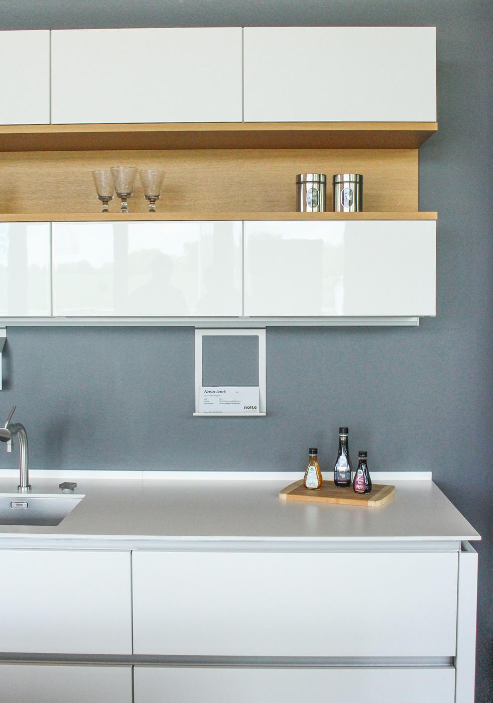 Complete Kitchen Nova Lack Nature By Nolte Küchen (including Appliances)    Lauritz.com