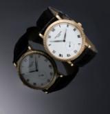 Patek Philippe 'Calatrava' men's watch, 18 kt. gold, white dial