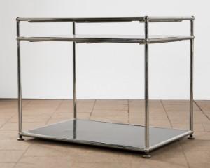 Usm Haller Tisch Beistelltisch Stahlrohr Lauritzcom