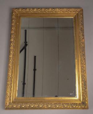 spejl med guldramme Spejl med guldramme | Lauritz.com spejl med guldramme
