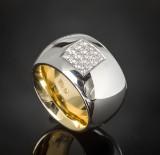 Brilliant-cut diamond ring, approx. 0.48 ct.