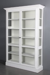 Display cabinet, white paint finish