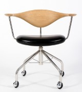 H. J. Wegner. Kontorstol, model PP502 'Swivel Chair'