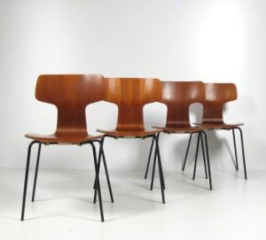 arne jacobsen st hle modell 3103 f r fritz hansen 4. Black Bedroom Furniture Sets. Home Design Ideas