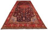 Handknuten persisk matta, Nanaj 338 x 223 cm