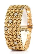 Elle Gioielli, Verona. 18 kt. gold bracelet, 54.4 grams