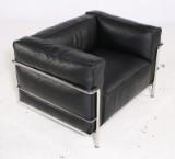 Le Corbusier. LC3 lounge chair