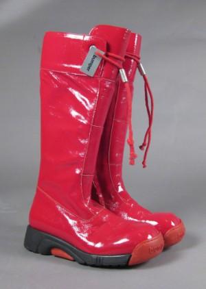 ace2f93c7a5 Slutpris för Bumper Høje støvler i rødt