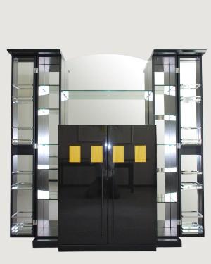 barskab og sideboard fra creation 1000 serien fra rolf benz 2. Black Bedroom Furniture Sets. Home Design Ideas
