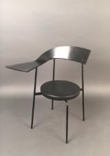 Schichtholz Armlehnstuhl / Stuhl mit Ablage