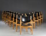 Hans J. Wegner. Twelve armchairs, model JH 250 (12)