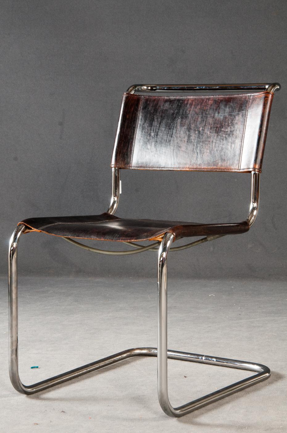 Auktionstipset - Mart Stam, Freischwinger / Stuhle Modell \'S 33 ...