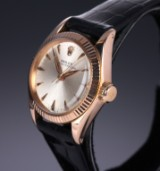 Vintage Rolex 'Oyster Perpetual' ladies' watch, 18 kt. pink gold, c. 1965