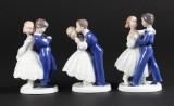 Bing og Grøndahl, figurer, porcelæn (3)