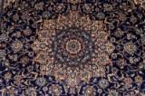 Persian Nain rug in silk, 365 x 265 cm.