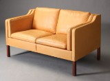 Børge Mogensen. Two-seater sofa, model 2212