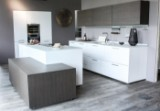 New Price! Complete kitchen by Nolte Küchen Nova Lack/ Nature