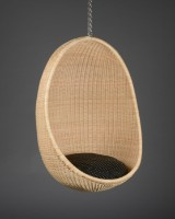 Nanna Ditzel. Egg-shaped hanging chair