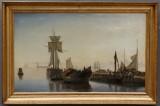 Christian Blache, marine fra 1863