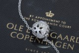 Ole Lynggaard. Blonde ball clasp in 18 kt.  0.70 ct