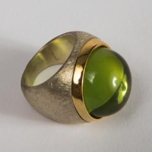 BernsteinRinggröße Sterling 57 925er Ring SilberGrüner rBeoWQCxdE