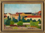 Leopold Fare oljemålning