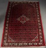 Persisk handknuten matta Hosseinabad, mått 296x204 cm