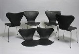 Leather covers for Arne Jacobsen 3107 chairs (6)