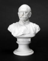 Meissen. Bismarck bisquit figur