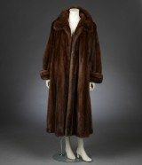 Mink coat, Scanbrown mink, approx. size 44-48