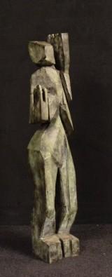 Max Müller, bronzestatue, 'Weiblicher Akt'
