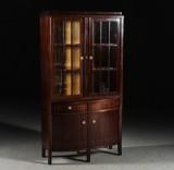 Bokskåp, mahogny, jugend, 1900-talets början