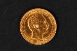 Guldmønt - Deutsches Reich 1901, Wilhelm II, 20 Mark