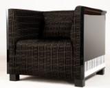 Rüdiger Brandel, large lounge armchair/chair model Note featuring keyboard pattern
