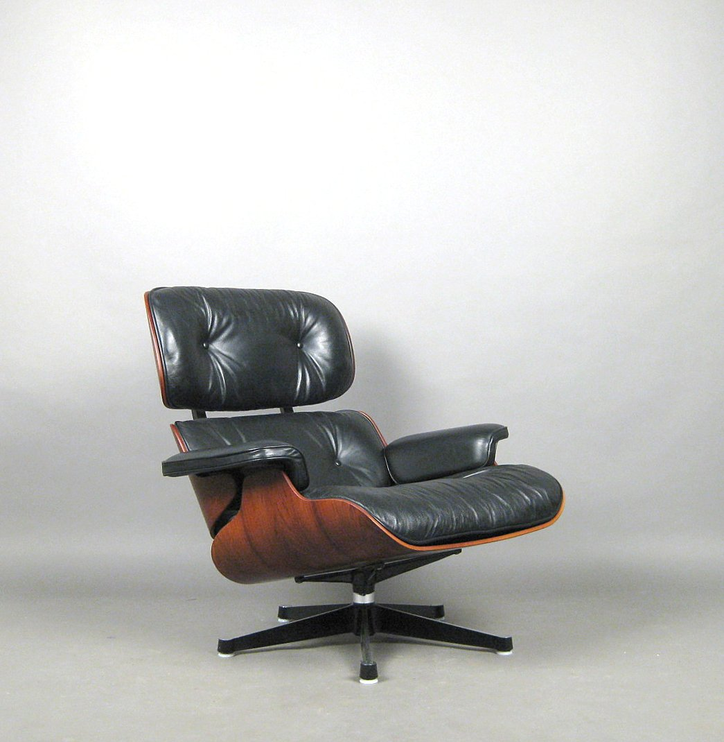 Charles U0026 Ray Eames, Sessel Modell Lounge Chair, Ausführung Vitra |  Lauritz.com