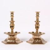 Par barok stager af bronze, ca. 1850 (2)