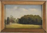 Sophus Schack, oljemålning, 'Landskap i Sönderjylland 1848'
